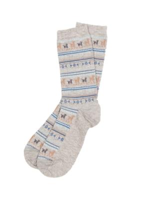 POKOLOKO Alpaca Socks Grey