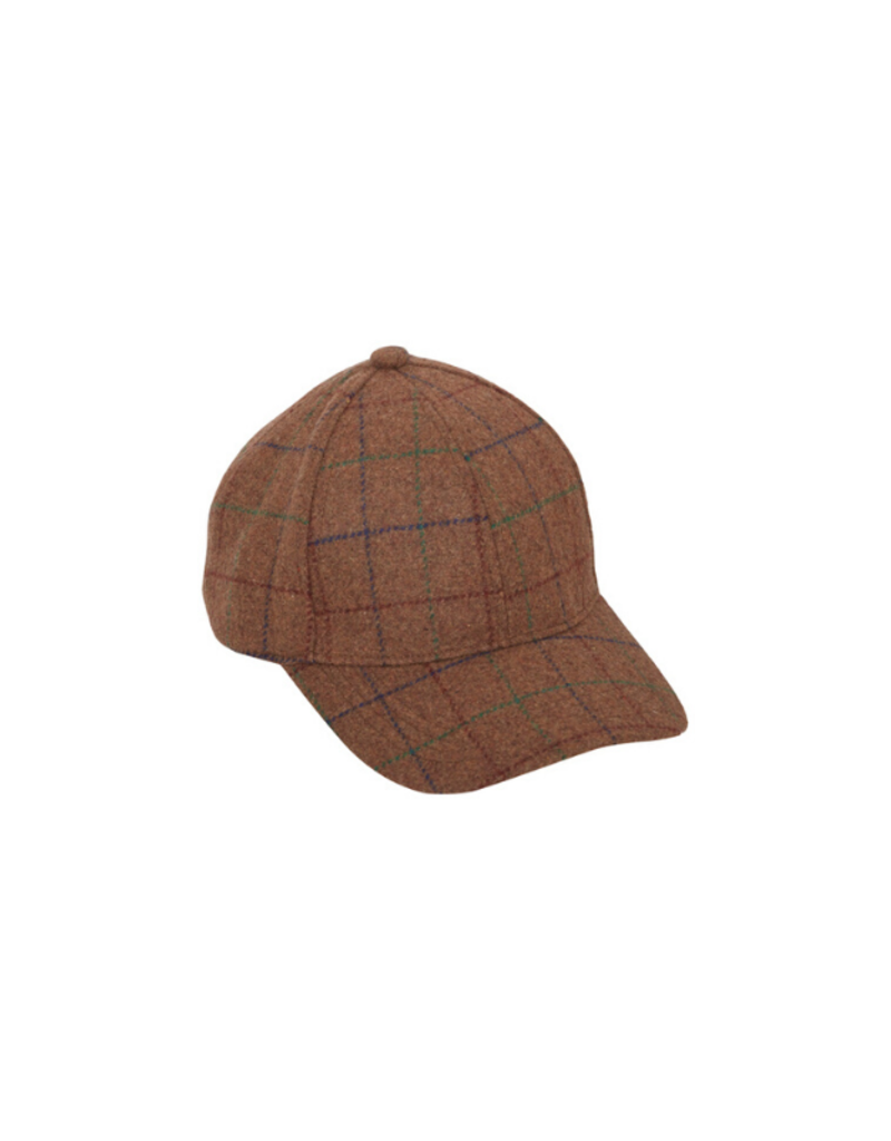 ICHI Ichi Check Cap Gingerbread & Black