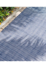 Dash & Albert DASH  In/Out 2x3 Herringbone Indigo White