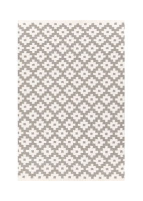 Dash & Albert Dash & Albert Indoor/Outdoor Samode Fieldstone/Ivory Rug 3x5