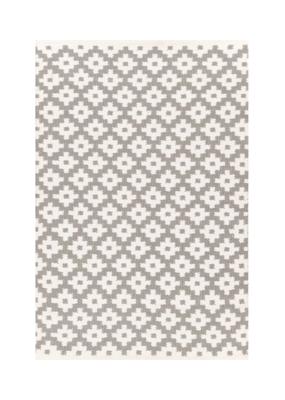 Dash & Albert Dash & Albert Indoor/Outdoor Samode Fieldstone/Ivory Rug 3x5