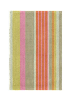 Dash & Albert Dash & Albert Cotton Rug 2x3 Moxie Stripe