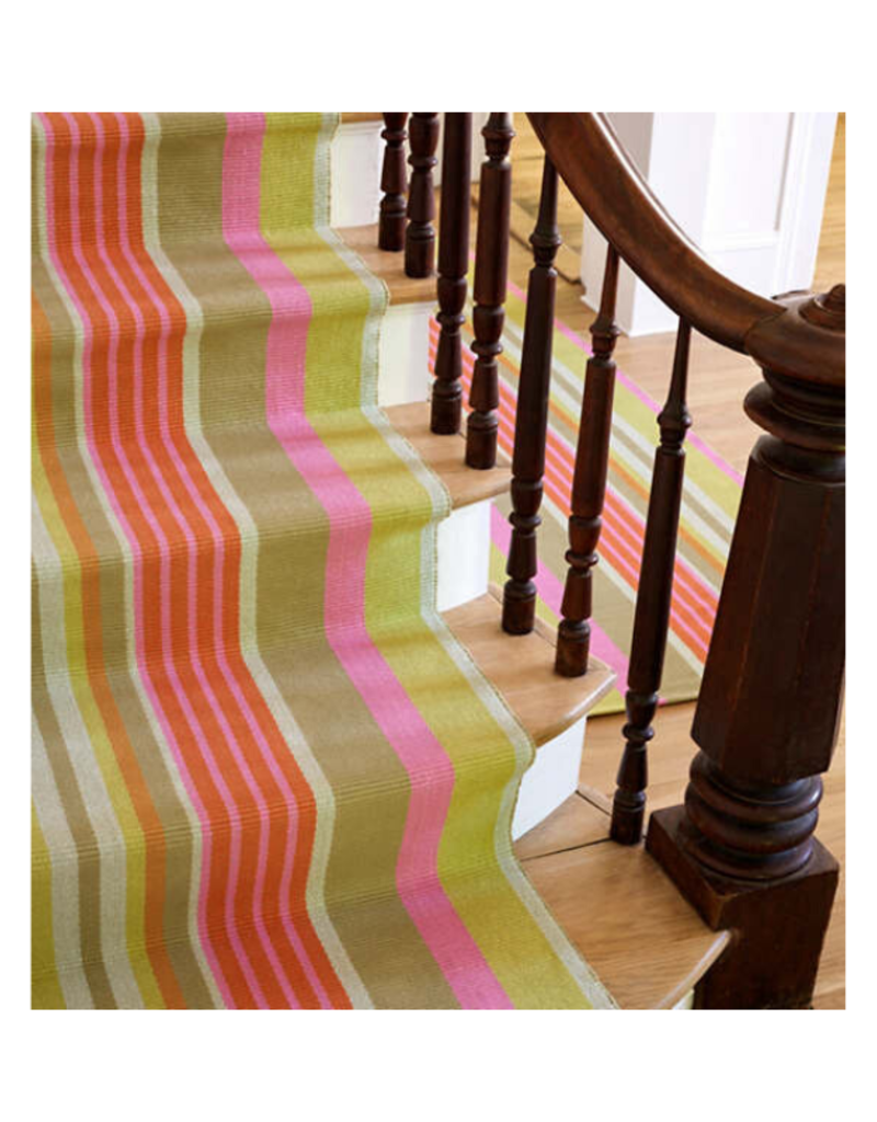 Dash & Albert DASH  Cotton Rug 2x3 Moxie Stripe