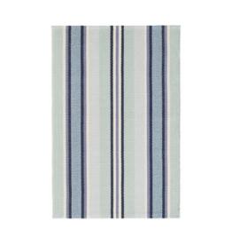 Dash & Albert Dash & Albert Barbados Stripe Woven Cotton Rug Runner 2.5x8