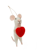 Mouse Ornament Love You Lenny