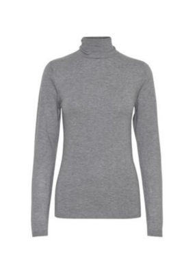 ICHI Mafa Turtleneck Grey by ICHI