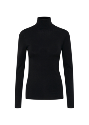 ICHI Mafa Turtleneck Black by ICHI