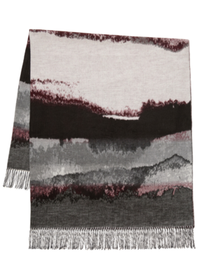 FRAAS Throw - Amethyst Skies Bordeaux