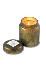 himalayan trading post Grapefruit Pine Mountain Fire Glass Candle by Himalayan Handmade Candle