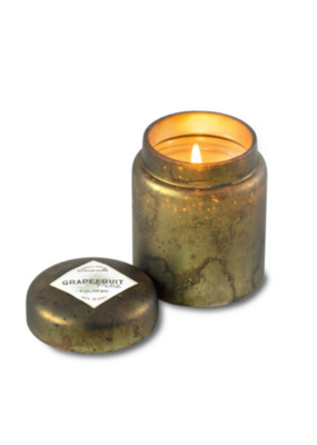 himalayan trading post Grapefruit Pine Mountain Fire Glass by Himalayan Handmade Candle