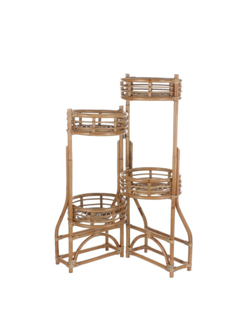 Phyton Rattan Plant Stand