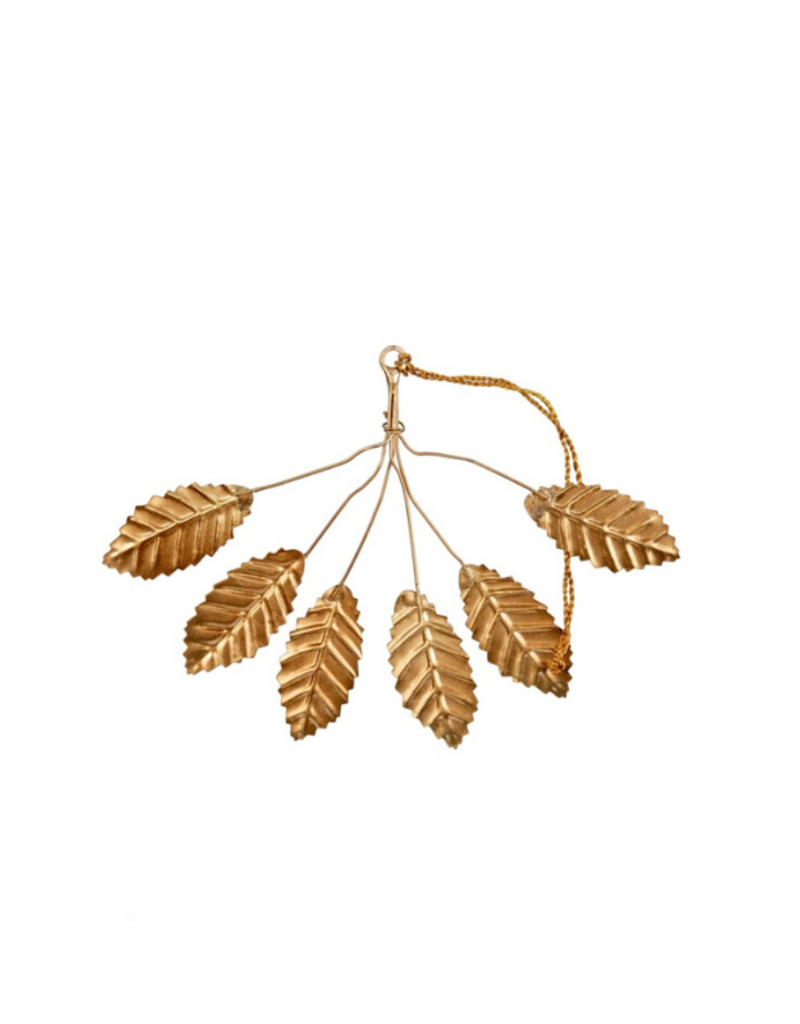Iron Leaf Bunch Hanging Ornament