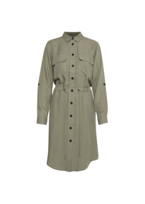 b.young b.young Ecela Shirt Dress in Sea Green