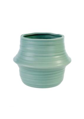Belly Basket Pot Seafoam Large