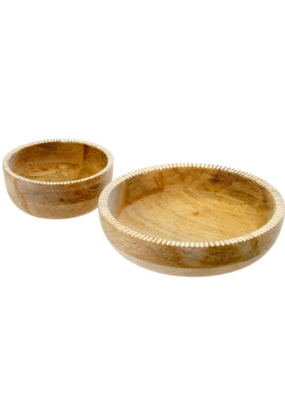 Lucca Wooden Bowl