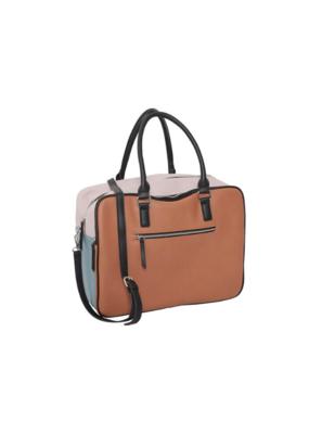 ICHI ICHI Svea Handbag in Colour Block