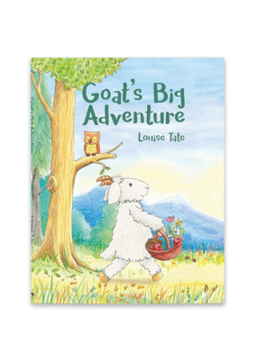 Jellycat Jellycat Book Goat's Big Adventure