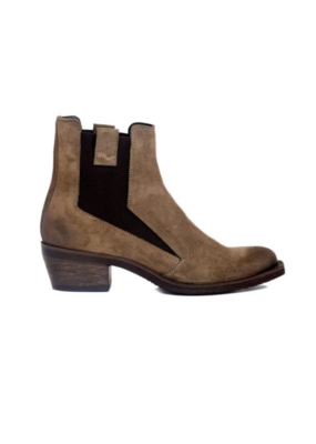 ateliers Ateliers Bodhi Ankle Boot in Taupe Suede