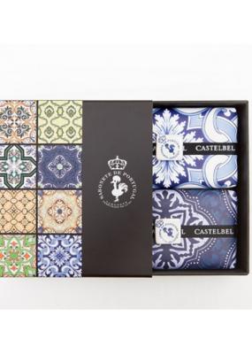 Castelbel Castelebl Tile Soap GIft Set in Lavender & Rhubard