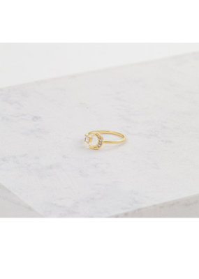 Lover's Tempo Lover's Tempo Moonlit Ring Gold