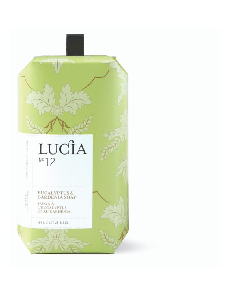 Lucia Bar Soap Eucalyptus & Gardenia