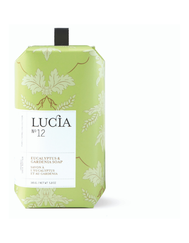 Lucia Lucia Bar Soap Eucalyptus & Gardenia