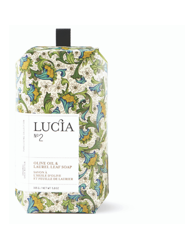 Lucia Bar Soap Olive Blossom & Laurel