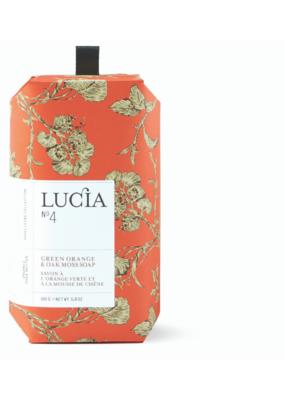 Lucia Bar Soap Green Orange & Oak Moss