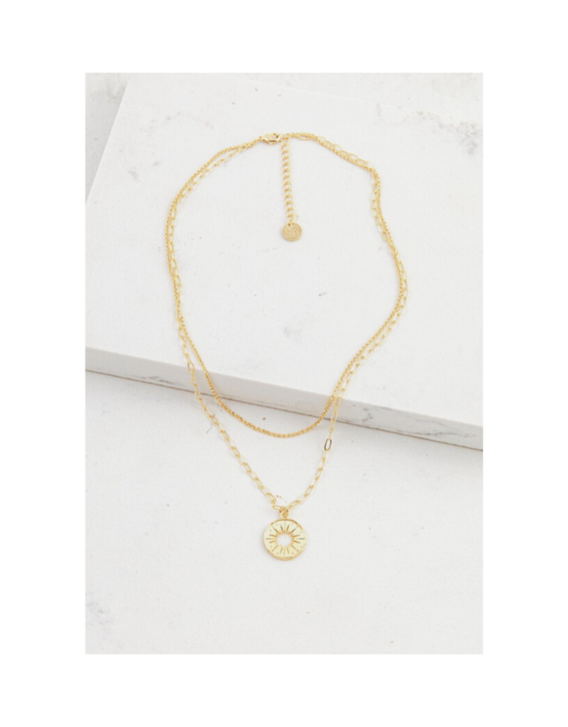 Lover's Tempo Lover's Tempo Sunburst Layered Necklace Gold
