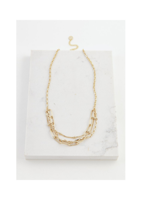 Lover's Tempo Lover's Tempo Shay Necklace Gold