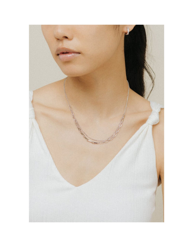 Lover's Tempo Lover's Tempo Aya Necklace Silver