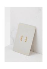 Lover's Tempo Lover's Tempo Gamma Climber Earrings Gold