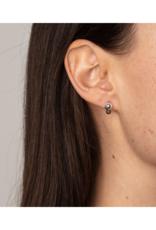 PILGRIM Pilgrim Freya Silver Grey Earrings