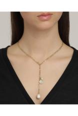 PILGRIM Pilgrim Urd Necklace White Gold