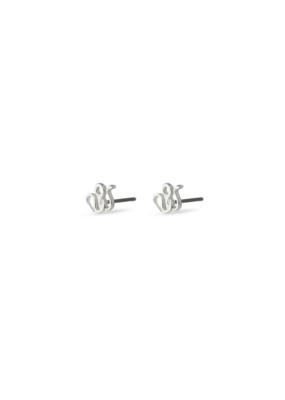 PILGRIM Pilgrim Sigyn Earrings Silver