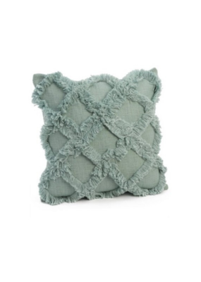 Seafoam with Lines Cushion