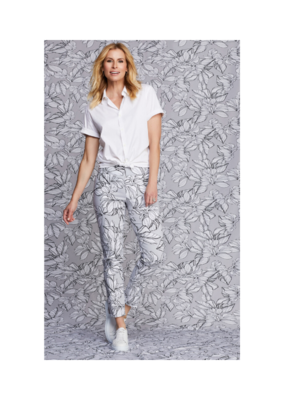 Up!Pants Delray Petal Pant with Slit