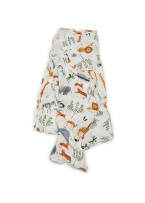 LouLou Lollipop LouLou Lollipop Swaddle Safari