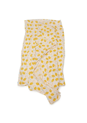 LouLou Lollipop Loulou Lollipop Muslin Swaddle Lemon