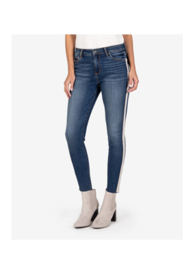 Kut from the Kloth Donna High Rise Skinny in Adoring Wash by Kut from the Kloth