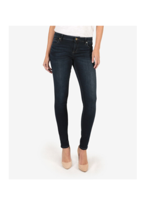 Kut from the Kloth KUT Mia Toothpick Skinny in Approve Wash