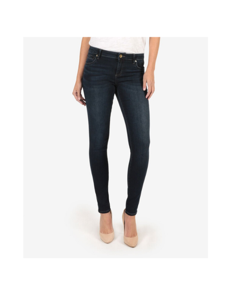 Kut from the Kloth Mia Toothpick Skinny in Approve Wash by Kut from the Kloth