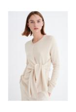 InWear Emalee Tie Sweater in Nougat by InWear