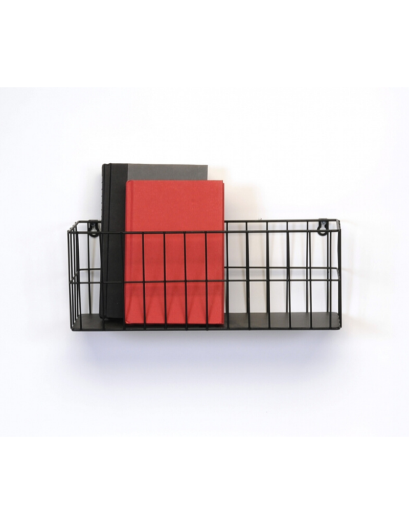 Black Wire Wall Basket
