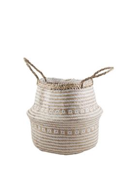 Laysan Belly Basket White