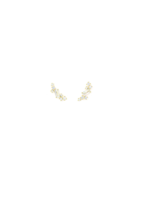 Lover's Tempo Lover's Tempo Laurel Climber Earrings in Gold