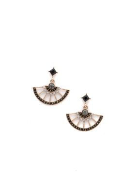 Lover's Tempo Lover's Tempo Margot Drop Earrings in Black