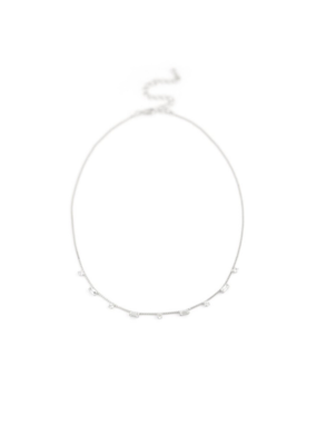 Lover's Tempo Lover's Tempo Josie Crystal Necklace in Silver
