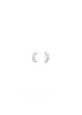 Lover's Tempo Lover's Tempo Nova Climber Earrings in Silver