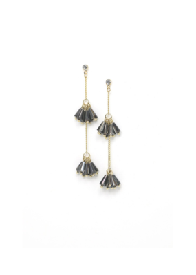 Lover's Tempo Lover's Tempo Soiree Drop Earrings in Smoke